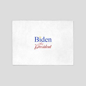 Biden For President 5'x7'Area Rug