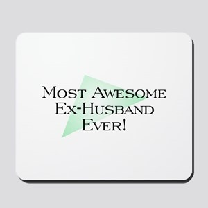 MA Ex-Husband Mousepad