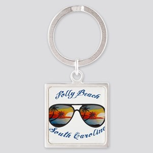 South Carolina - Folly Beach Keychains
