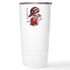 Puerto Rico ROCKS Stainless Steel Travel Mug
