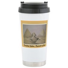 Pyramid Stainless Steel Travel Mug