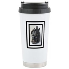 The (Male) Mask/Mask Stainless Steel Travel Mug