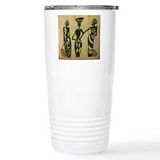 3 Sistas (Green) Stainless Steel Travel Mug