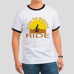 i love the morning ride Ringer T