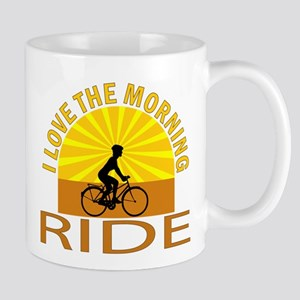 i love the morning ride Mug