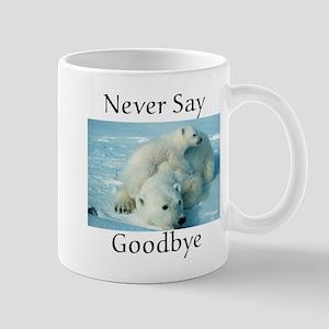 save the polar bear Mug