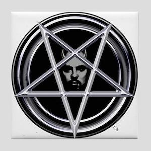 Father Pentagram Tile Coaster