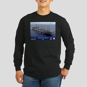 USS Bonhomme Richard LHD-6 Long Sleeve Dark T-Shir