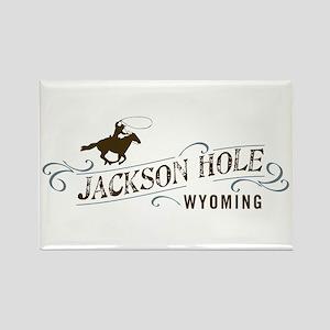Jackson Hole Cowboy Magnets