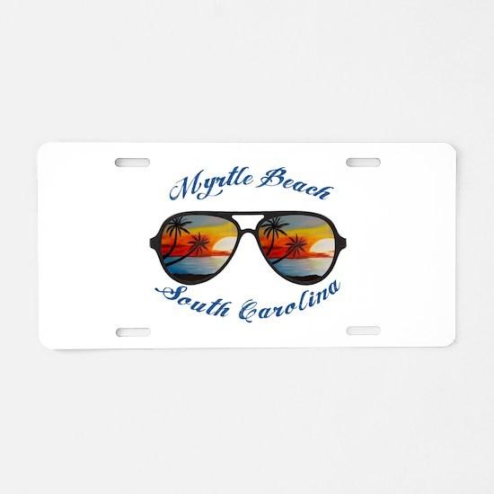 South Carolina - Myrtle Bea Aluminum License Plate
