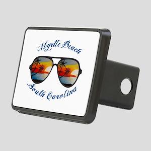 South Carolina - Myrtle Be Rectangular Hitch Cover