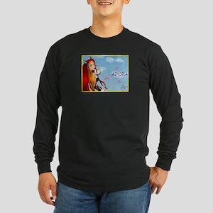 Adiora Long Sleeve Dark T-Shirt