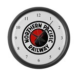 Northern Pacific Large Wall Clock