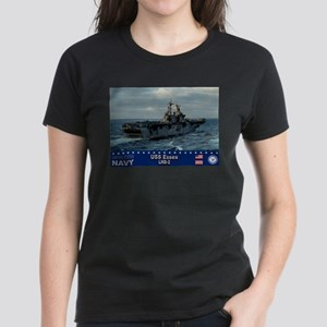 USS Essex LHD-2 Women's Dark T-Shirt