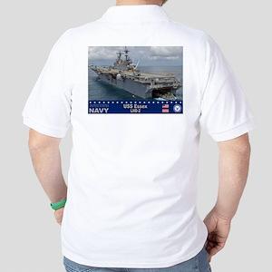 USS Essex LHD-2 Golf Shirt