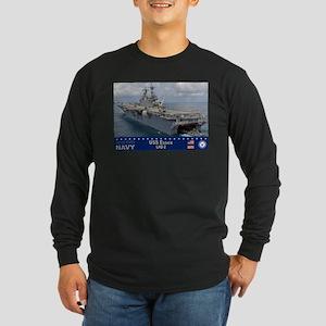 USS Essex LHD-2 Long Sleeve Dark T-Shirt