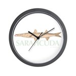 Sarahcuda the Lipstick Cuda Wall Clock