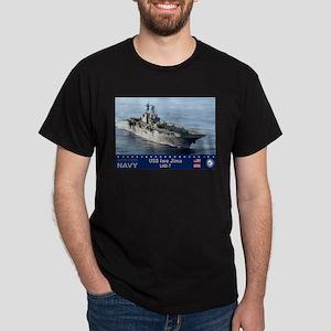 USS Iwo Jima LHD-7 Dark T-Shirt