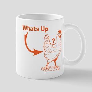 Whats Up Chicken Butt T-Shirt Mug