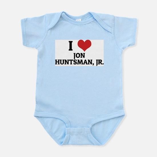 I Love Jon Huntsman, Jr. Infant Creeper