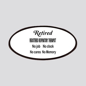 Retired Registered Respiratory Therapist Patch