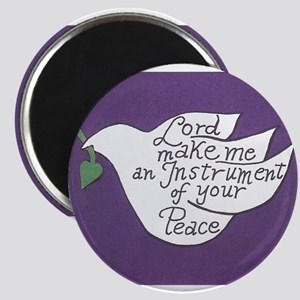 """ST FRANCIS' DOVE 2.25"""" Magnet (10 pack)"""