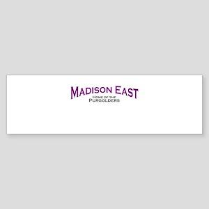 Madison East Purgolders Bumper Sticker
