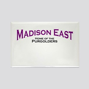 Madison East Purgolders Rectangle Magnet