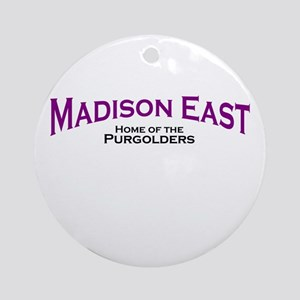 Madison East Purgolders Ornament (Round)