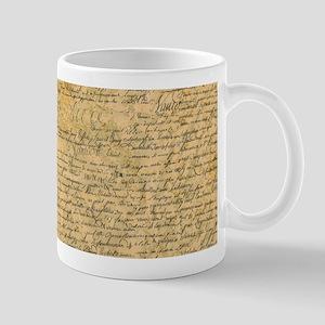 Old Manuscript Mugs