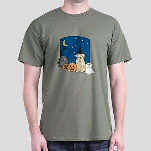 Labrador Halloween Dark T-Shirt