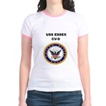 USS ESSEX Jr. Ringer T-Shirt