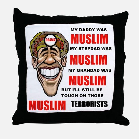 NOT MUSLIM? Throw Pillow