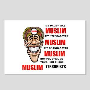 NOT MUSLIM? Postcards (Package of 8)