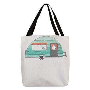 636f3c99cafe Funny Camping Polyester Tote Bags - CafePress