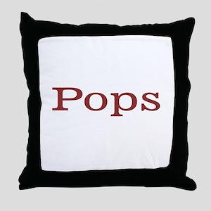 Pops Throw Pillow