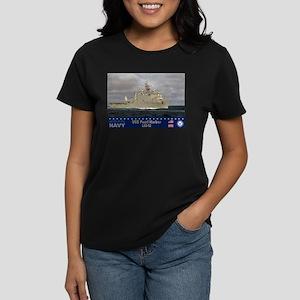 USS Pearl Harbor LSD-52 Women's Dark T-Shirt