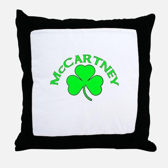 McCartney Throw Pillow