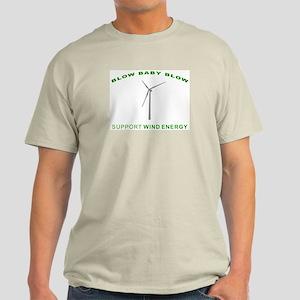 Support Wind Energy - Light T-Shirt