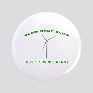 """Support Wind Energy - 3.5"""" Button"""