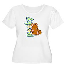 Simply Pooky Women's Plus Size Scoop Neck T-Shirt