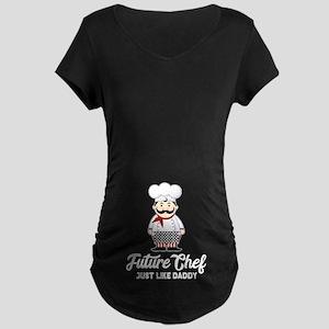 Future Chef Maternity Dark T-Shirt