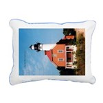Au Sable Point Rectangular Canvas Pillow