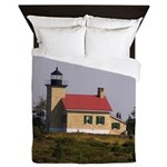 Copper Harbor Lighthouse Queen Duvet