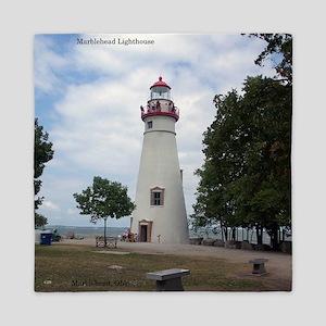 Marblehead Lighthouse Queen Duvet