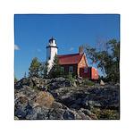 Eagle Harbor Lighthouse Queen Duvet