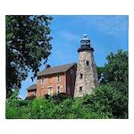 Charlotte Genesee Lighthouse King Duvet