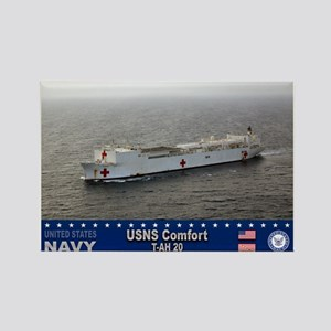 USNS Comfort T-AH-20 Rectangle Magnet