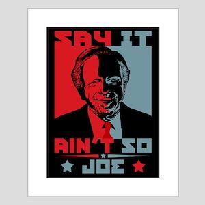 Say It Ain't So, Joe! Small Poster