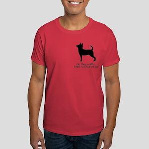 Kick Ass Chihuahua Dark T-Shirt